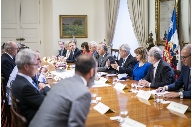 Image via presidency's press office