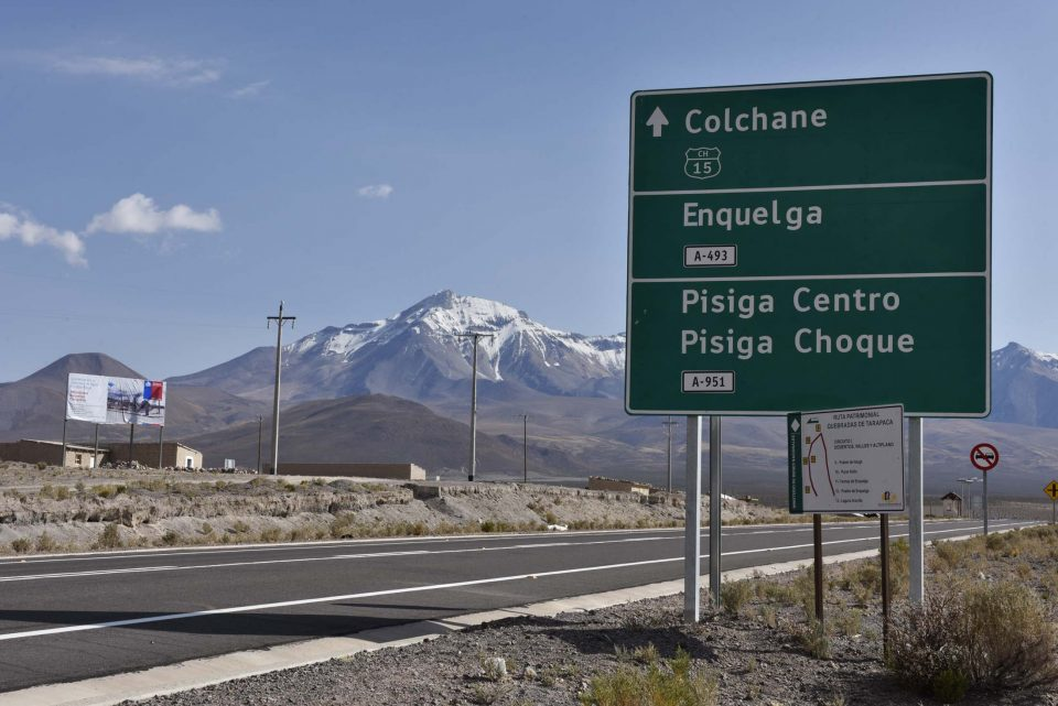 Road to Colchane
