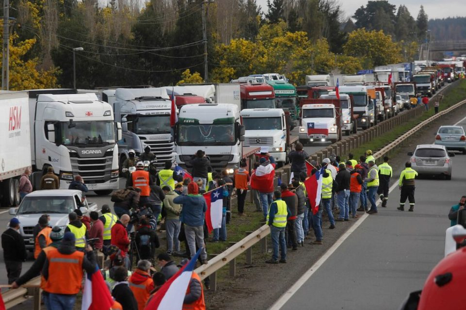 A Death, A Dance, And Waning Support: Truckers' Strike Continues