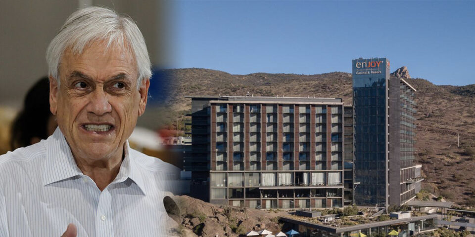 Sebastián Piñera and Enjoy Casino