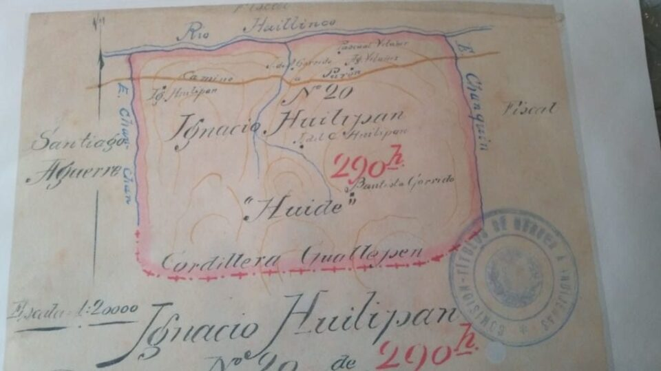 Chilean Land Grant to Mapuche Community