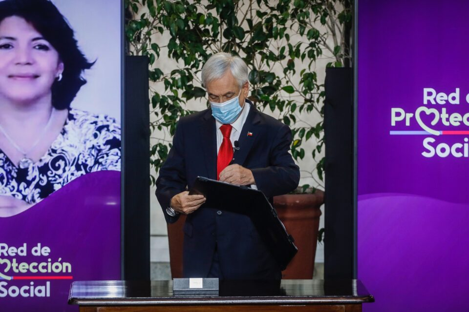 President Piñera Promulgates Middle Class Relief Bill